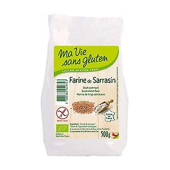 Organic buckwheat flour 500 g of powder