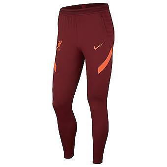 Liverpool 2021-2022 Training Pants (Red) - Kids
