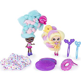 Candylocks Sweet Treats Figures - Jilly Jelly and Donna Nut