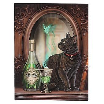 Lisa Parker Absinthe Canvas Plaque