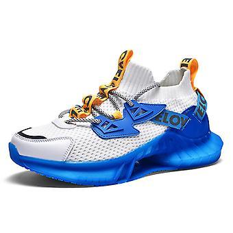 Colorful luminous sneakers 1E2171 BlueWhite