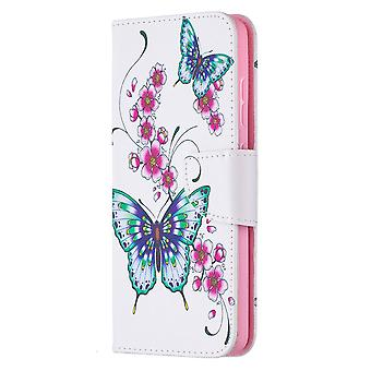Samsung Galaxy A52 4g/5g Case Pattern Magnetic Protective Cover Butterfly Floral