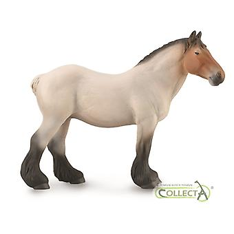 CollectA Dutch Draft Mare Roan | Collectable Animal Figurine Roleplay Toy