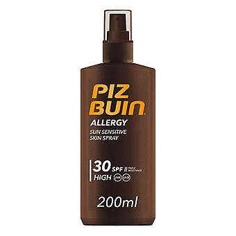Kroppssolskyddssprayallergi Piz Buin SPF 30 (200 ml)