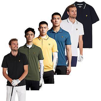 Lyle & Scott Mens 2021 Andrew Umidade Wicking Golf Polo Shirt