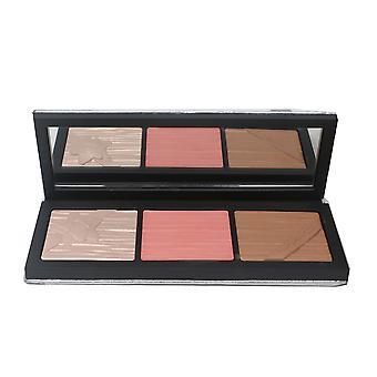 Mac Shiny Pretty Things Face Compact Blush Bronzer Surligneur 0.49oz -Fair-