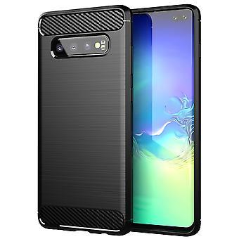 Etui for Samsung Galaxy S10 PLUS Fleksibel Ultra Slank TPU Silikon Telefonveske Bakdeksel Støtfanger