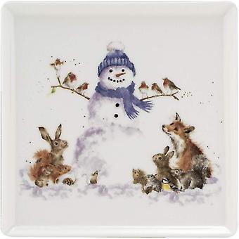 Wrendale Designs Christmas Design Ceramic Plate