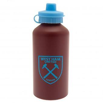 West Ham United Aluminium Drinks Bottle MT