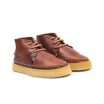 Yogi Footwear Hitch Tumbles Leather Boots - Chestnut