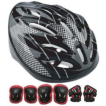 Set of helmets and knee pads Urbanglide (7 pcs)