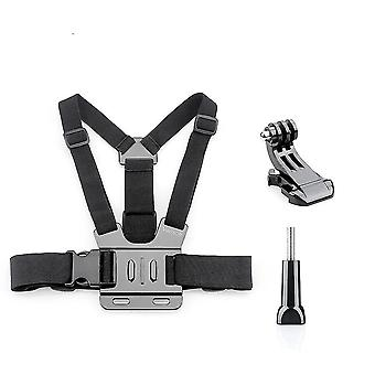 Chest Strap Belt- Body Tripod Harness Mount For Gopro Hero Action Camera