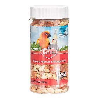 Kaytee Fiesta Papaya, Peanut & Mango Treat - Pet Birds - 10 oz