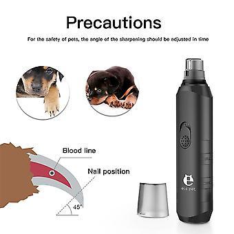 Pet Nail Clipper Cutter Nerezové nůžky Pečovací nástroje pro zvířata Pet Supplies (černá)