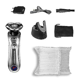 Electric razors professional rotary electric shaver wet dry beard electric razor for men rechargeable facial shaving