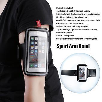 スポーツランニングジョギングジムアームバンドケースカバーホルダーiphone 6 4.7''