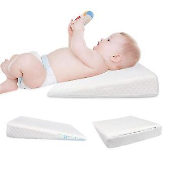Universal Baby Krippe Keil Kissen mit abnehmbaren wasserdichten Baumwolle Abdeckung