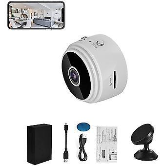 Mini caméra cachée 1080p Hd caméra espion cachée sans fil avec détection de mouvement et vision nocturne