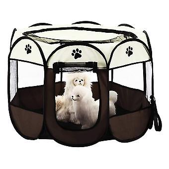 8 Panel Mesh House Skládací Pet Stan pro psy Kočky Králíci