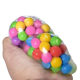 لعبة الكرة الضغط، وتخفيف التوتر القلق اليد ممارسة أداة للأطفال البالغين