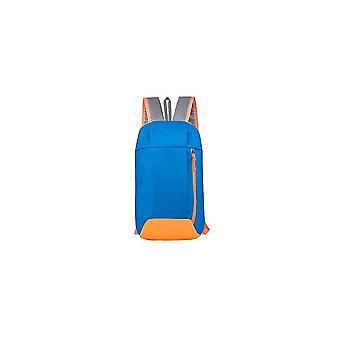 Vattentät sportryggsäck, Litet gym kvinnor utomhusbagage för fitnessresor (blå färg)