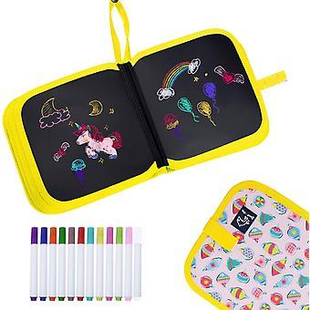 Kids Erasable Doodle Book Set Toddlers Activity Toys Reusable, Bear