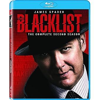 Lista negra: Season 2 [Blu-ray] EUA importação