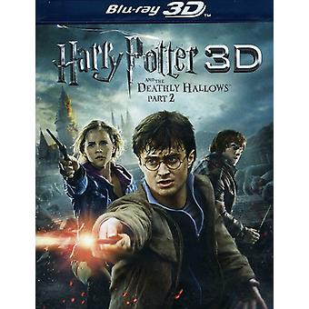 Harry Potter & Deathly Hallows Part 2 (W/DVD) [Blu-ray] USA import