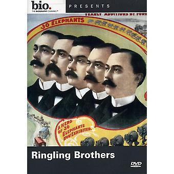 Ringling Brothers [DVD] USA importerer