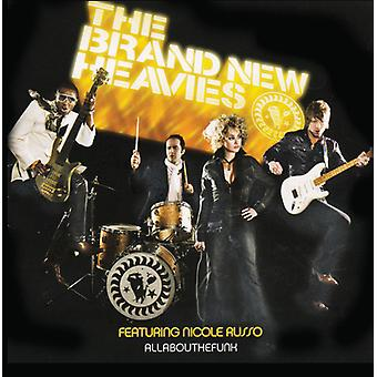 Helt ny Heavies - Allaboutthefunk [CD] USA import