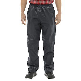 Hombre tormenta Ridge Durable largo elástico pantalón impermeable al aire libre