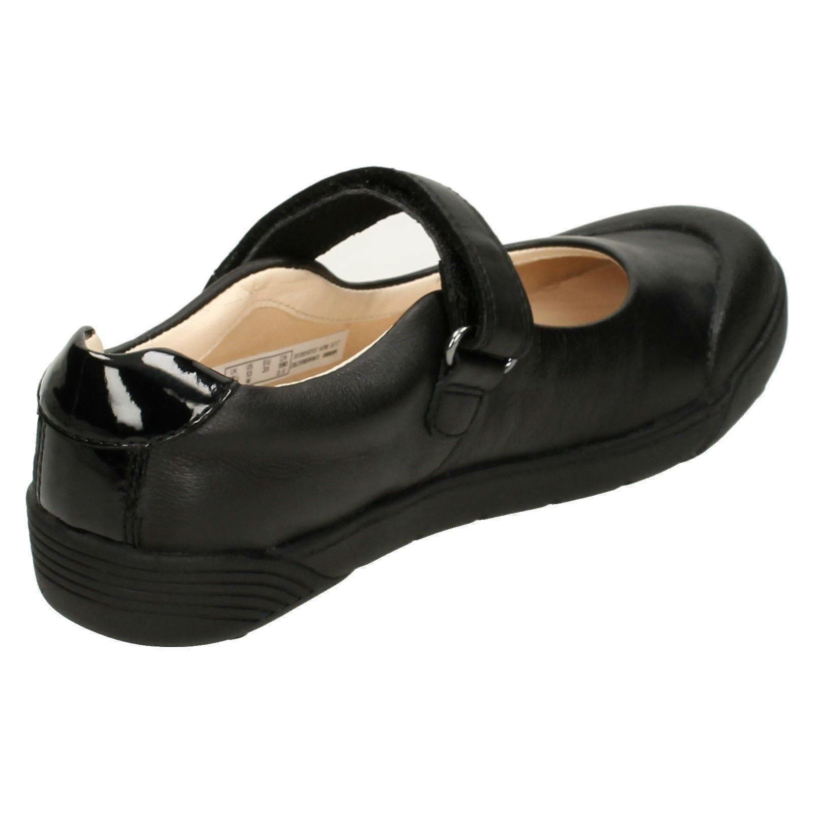 Girls Clarks Leather School Shoes *Lil Folk Bud*
