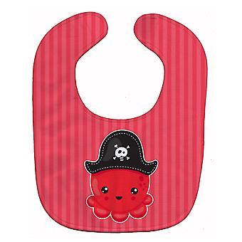 Каролинских сокровища BB8918BIB морских пиратский Осьминог красный ребенок нагрудник