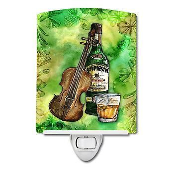 Каролинских сокровища BB5766CNL ирландского виски и музыки керамические ночной свет