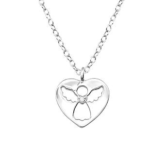 Angle - 925 Sterling Silver Necklaces - W32079x