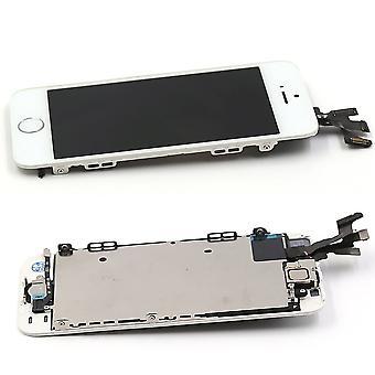Completamente assemblato con 5s-bianco-iphone tasto home