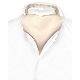 Vesuvio Napoli ASCOT Solid Cravat mäns hals slips