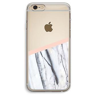 iPhone 6 Plus / 6S Plus Transparent Case (Soft) - A touch of peach