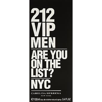 Carolina Herrera 212 VIP mænd Eau de Toilette 100ml Spray