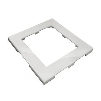 Vannvei 519-3090B ABS foran tilgang Trim Plate - hvit