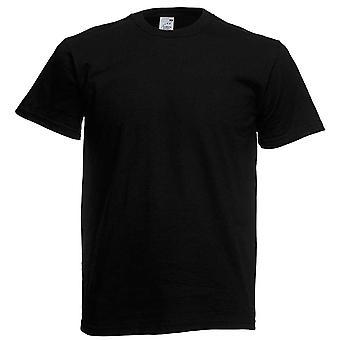 Fruto da camisa de algodão T tear Mens Original liso
