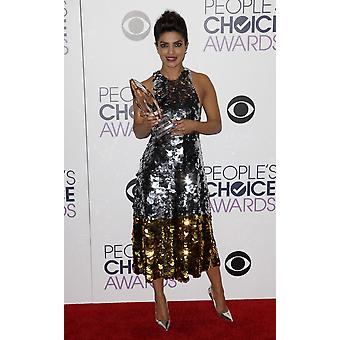 Priyanka Chopra In The Press Room For PeopleS Choice Awards 2016 - Press Room The Microsoft Theater Los Angeles Ca January 6 2016 Photo By Emiley SchweichEverett