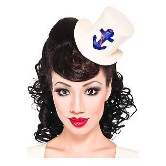 Ahoy Sailor Mini Hat