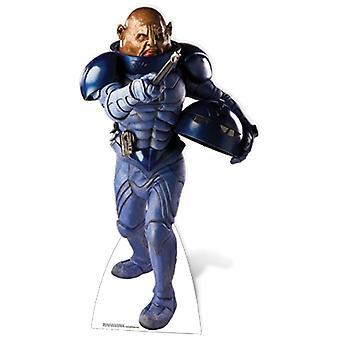 General Staal (Sontaran)-pahvi lovea
