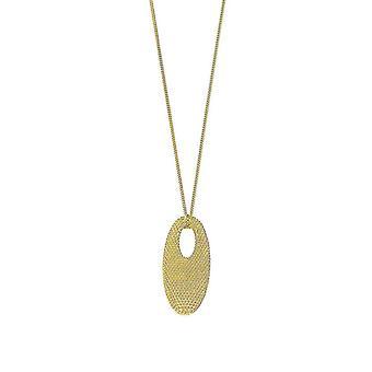 Joop kvinders kæde Hlaskette sølv guld sort spume JPNL90551B450