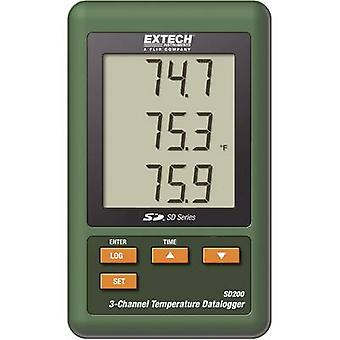 Rejestratory temperatury Extech SHD200