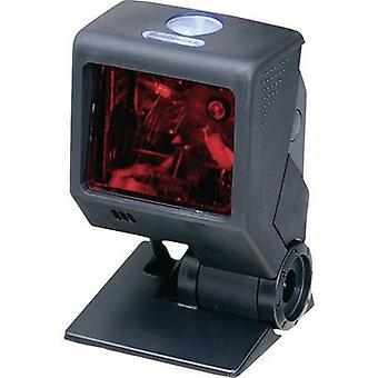 Barcodescanner van Honeywell AIDC Quantum T snoer 1D Laser zwart Desktop USB