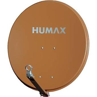 Humax 75 Pro satelit antena 75 cm material reflectorizant: aluminiu caramida rosu