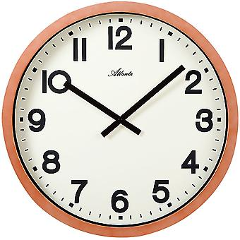 Colori della rame analogici di Atlanta 4437 parete orologio quarzo tondo