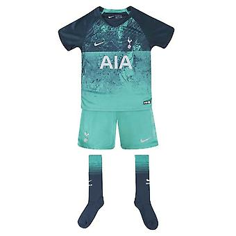 2018-2019 Tottenham Third Nike Little Boys Mini Kit